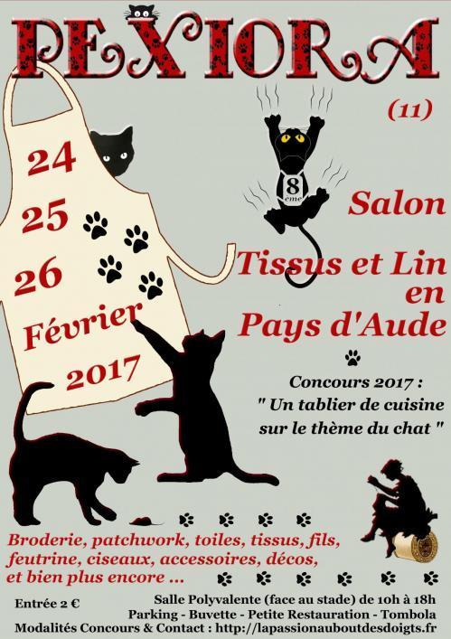 Affiche salon pexiora fevrier 2017