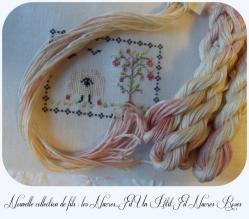 Collection de fils les nacres nacres roses un petit fil 1