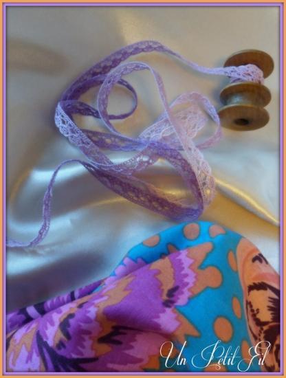 Dentelle simple violette 2