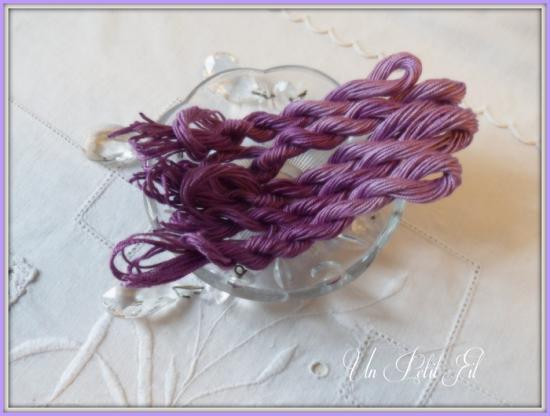 Fil de soie violette 1