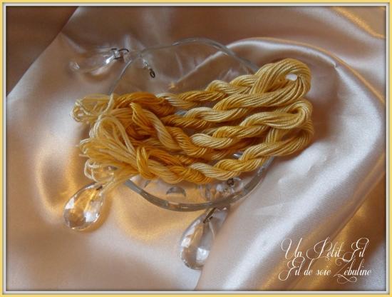 Fil de soie zebuline 2