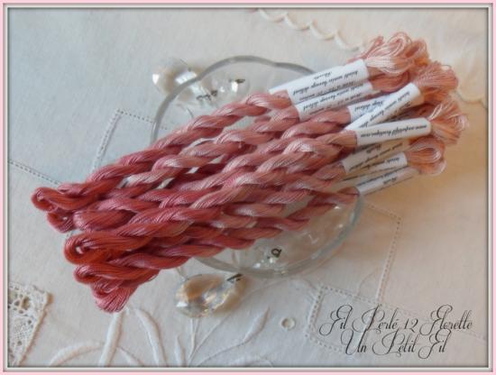 Fil perle 12 florette