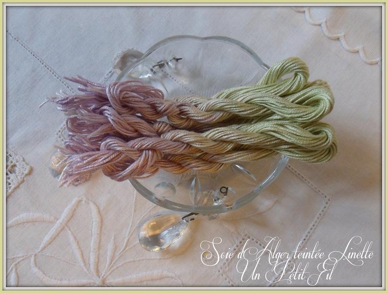 Fil soie d alger teintee linette 1