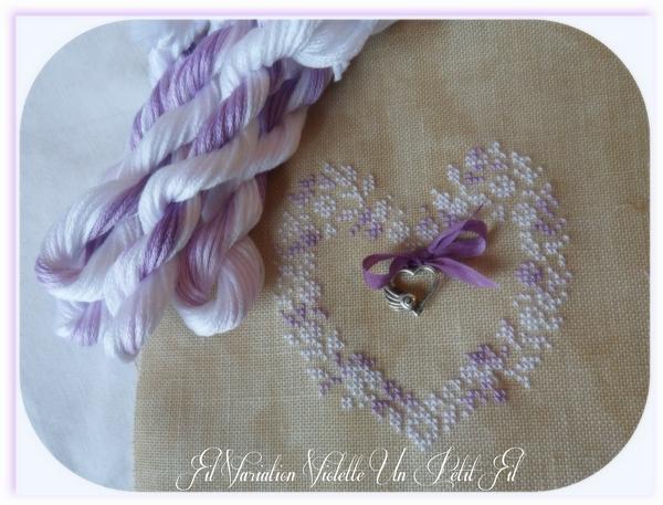Fil variation violette un petit fil