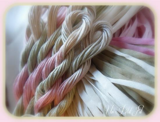 Fil de soie rosane 2