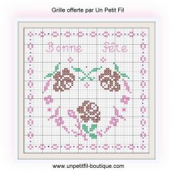 Grille fete des meres grille 2016 un petit fil