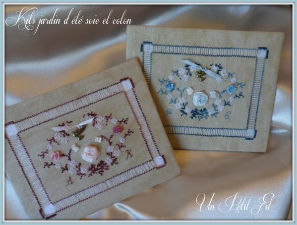 Kits jardin d ete soie et coton 1