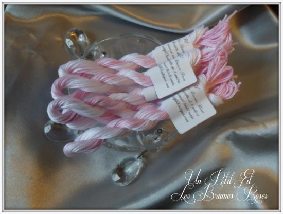 Les brumes roses par un petit fil