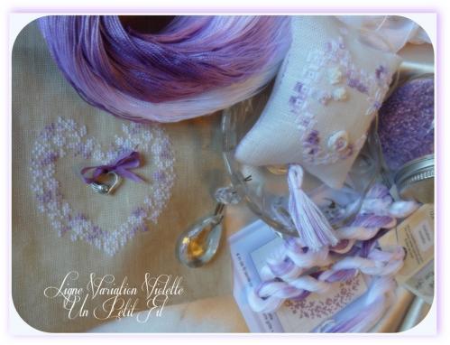 Ligna variation violette un petit fil