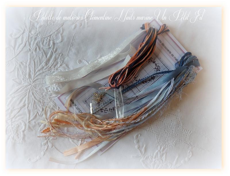 Palette de matieres clementine nuits marine un petit fil2