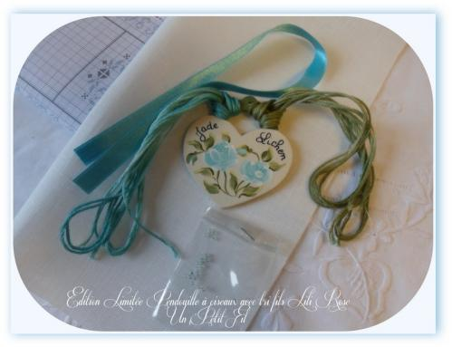 Pendouille lichen jade un petit fil edition limitee 1