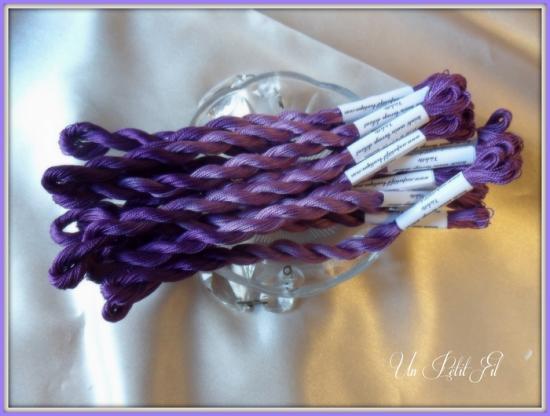Perle 12 violette