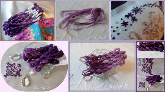 Presentation ligne violette