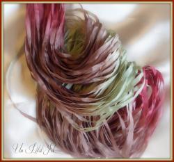 Presentation ruban de soie natale 4 mm