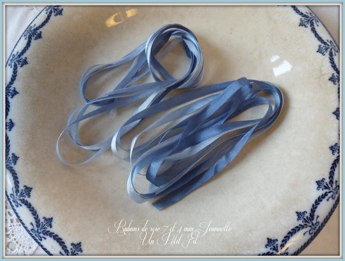 Presentation rubans 7 et 4 mm jeannette