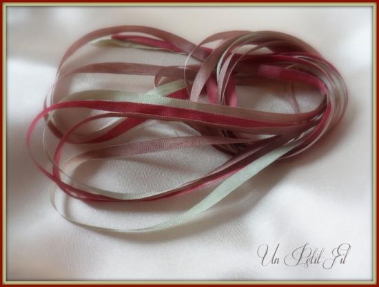 Ruban de soie natale 4 mm
