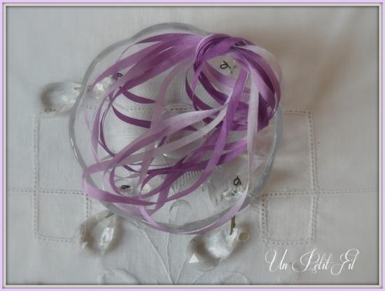 Ruban violette 4 mm 1