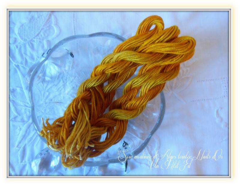 Soie d alger teintes nuits d or un petit fil 1
