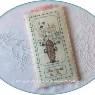 Kit Mon Bouquet de Fils (sur toile 16 fils/cm)