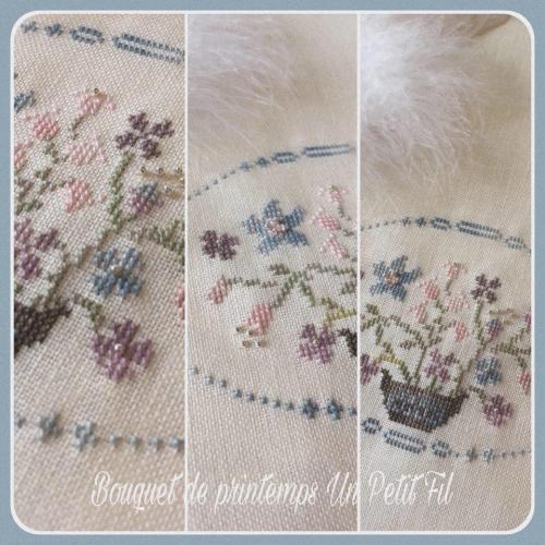 Kit bouquet ancien Un Petit Fil