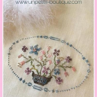 Kit Bouquet Ancien (sur toile 16 fils/cm)