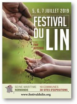 Affiche festival du lin 2019