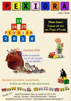 Affiche salon pexiora 2018 23au25fev