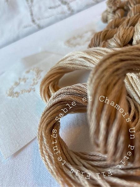 Cchamois sable aqua un petit fil 3
