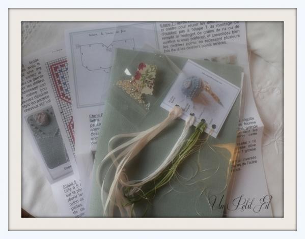 Contenu du kit bijoux de ciseaux maria un petit fil 1