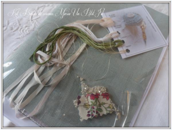 Contenu du kit bijoux de ciseaux maria un petit fil 2