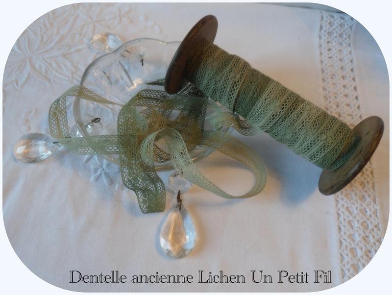 Dentelle ancienne entre deux lichen 1