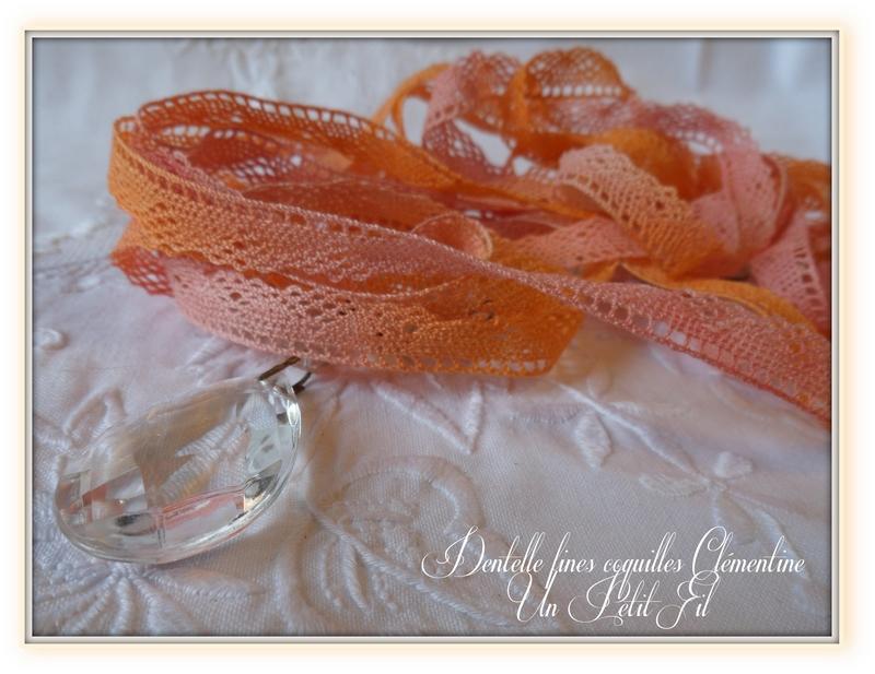 Dentelle fines coquilles clementine un petit fil 1