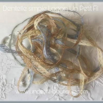 Dentelle Lagon simple