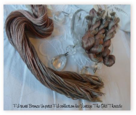 Fil bronze un petit fil collection les vintage the old threads