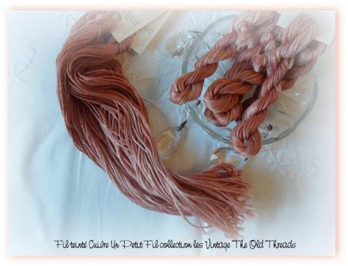 Fil cuivre un petit fil collection les vintage the old threads
