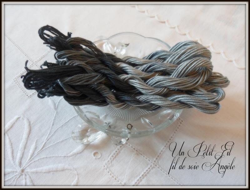 Fil de soie avas teinte angele un petit fil 2