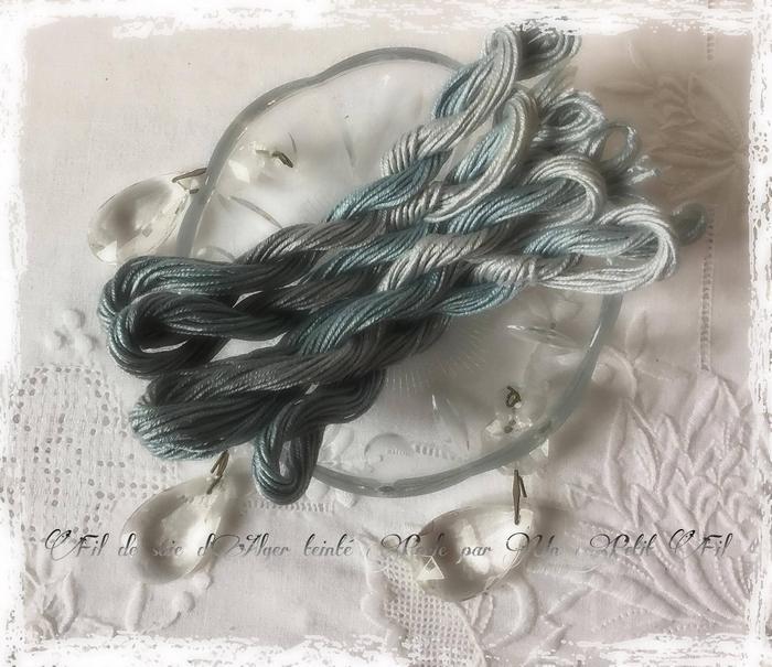 Fil de soie d alger perle un petit fil