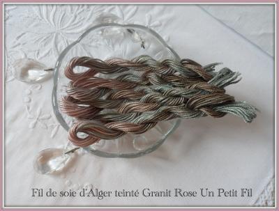 Fil de Soie Granit Rose