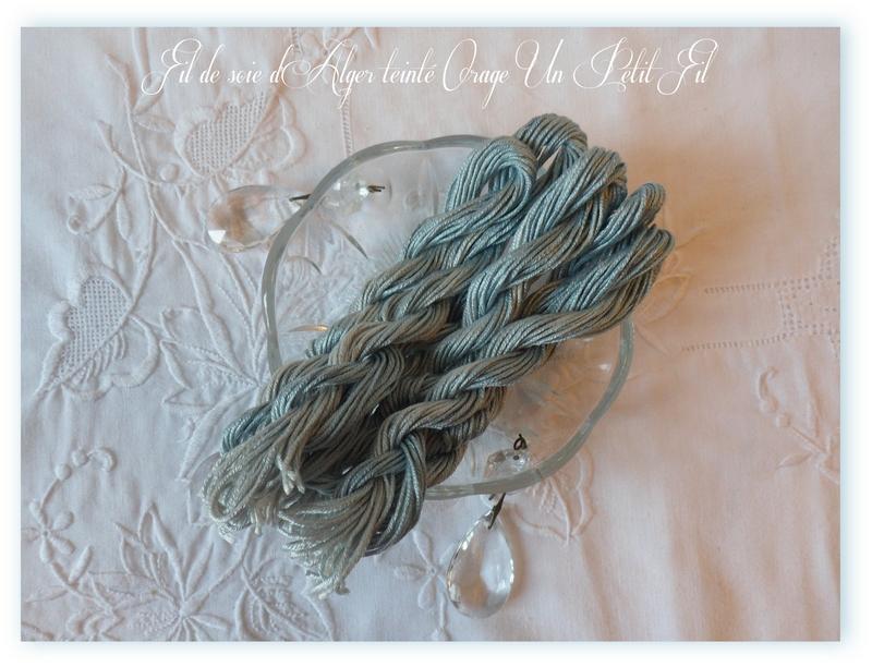 Fil de soie d alger teinte orage un petit fil 1