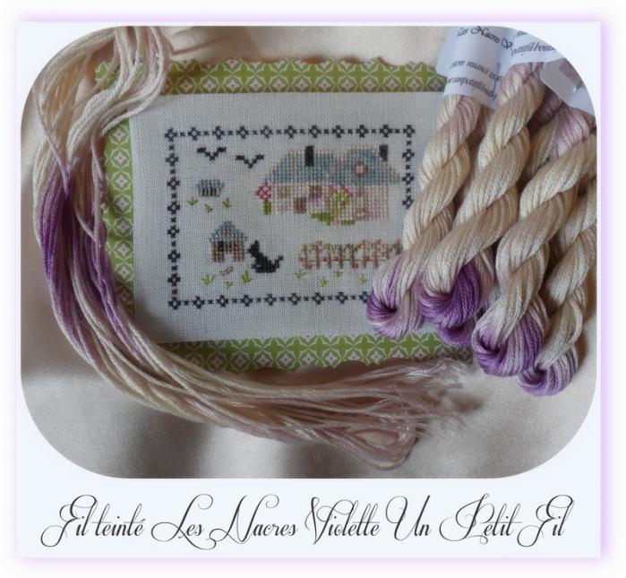 Fil les nacres violette un petit fil 2