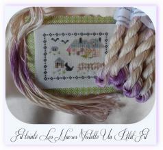 Fil les nacres violette un petit fil 5