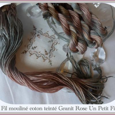 Fil Granit Rose