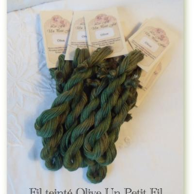 Fil Olive - Edition Limitée