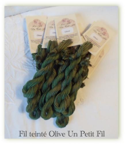 Fil olive un petit fil 1