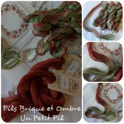 Fil Ombre et sa ligne de produits associés : rubans et fil de soie