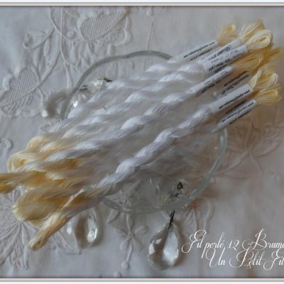 Fil perlé 12 Brumes d'Or