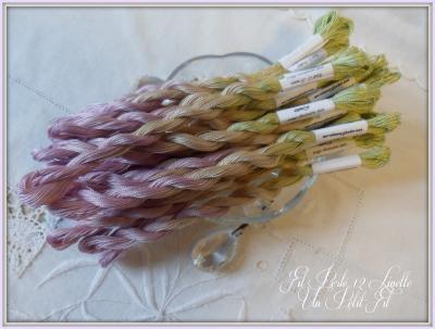 Fil perlé 12 Linette