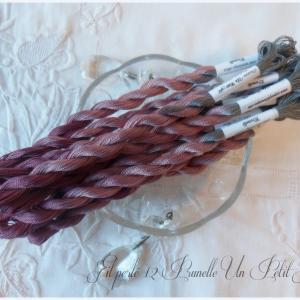 Fil perle 12 prunelle un petit fil