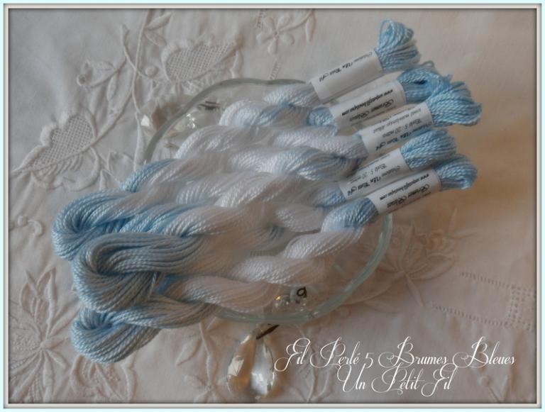 Perlé 5 Brumes bleues