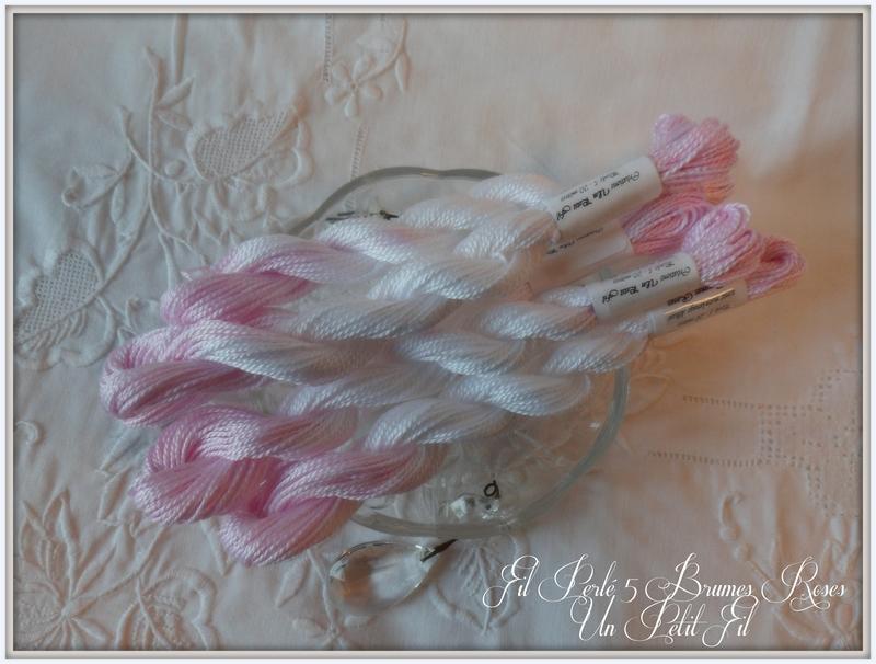 Fil perle 5 brumes roses un petit fil